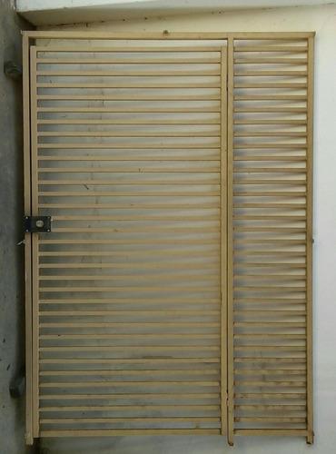 portão em metalon