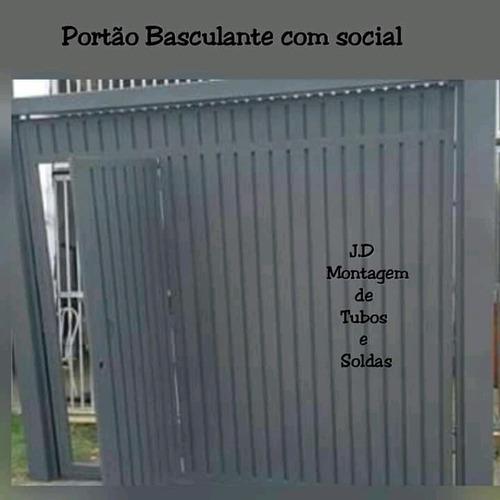 portões basculante deslizante