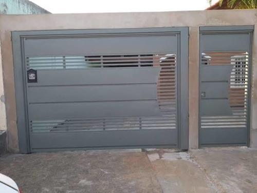 portões, portas e janelas móveis de serralheria