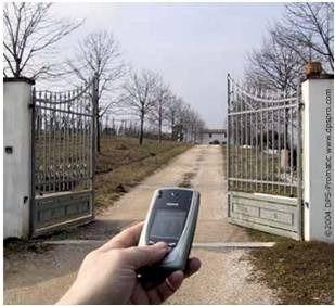 porton abrir porton desde celular 200 usuarios