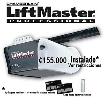 porton automatico motor liftmaster 8360 c/batería
