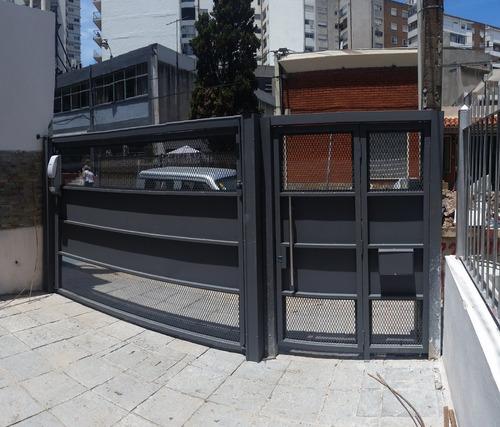 portón basculante corredizo seccional terra portones