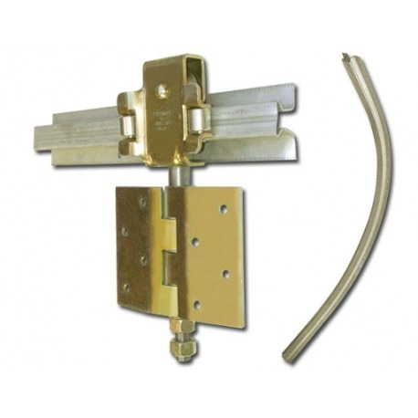 porton corredizo guias de acero doble chapa inyectada 240x2