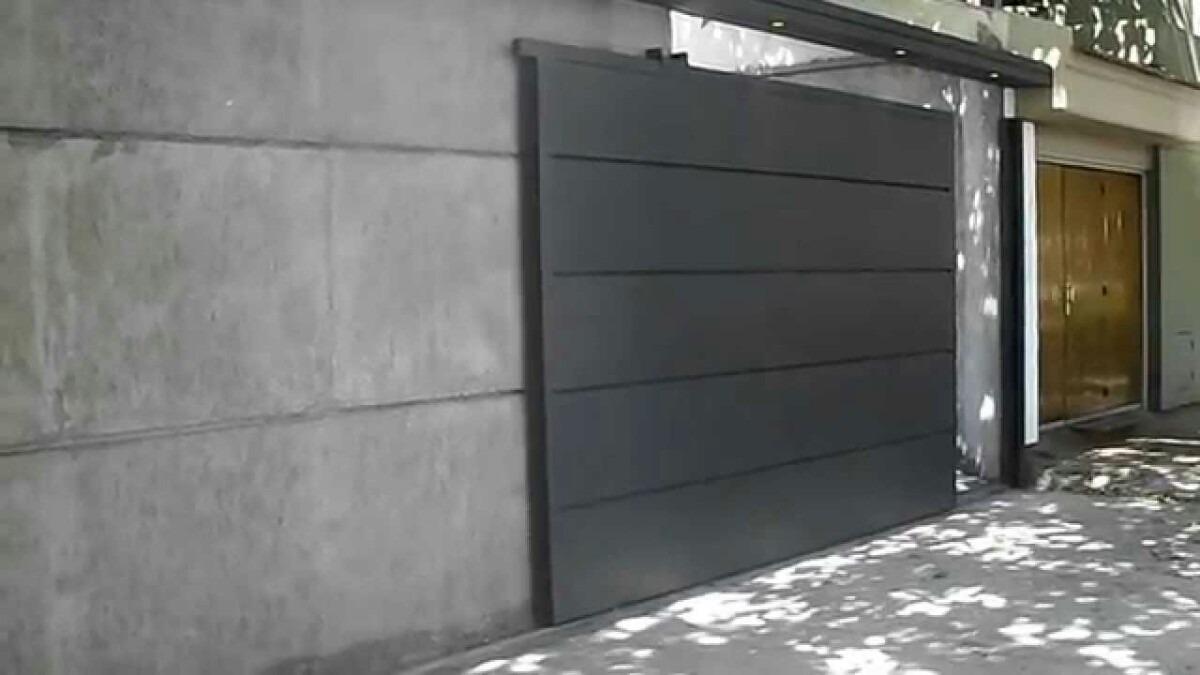 Port n corredizos chapa garaje galp n metal desplegado - Porton de garaje ...