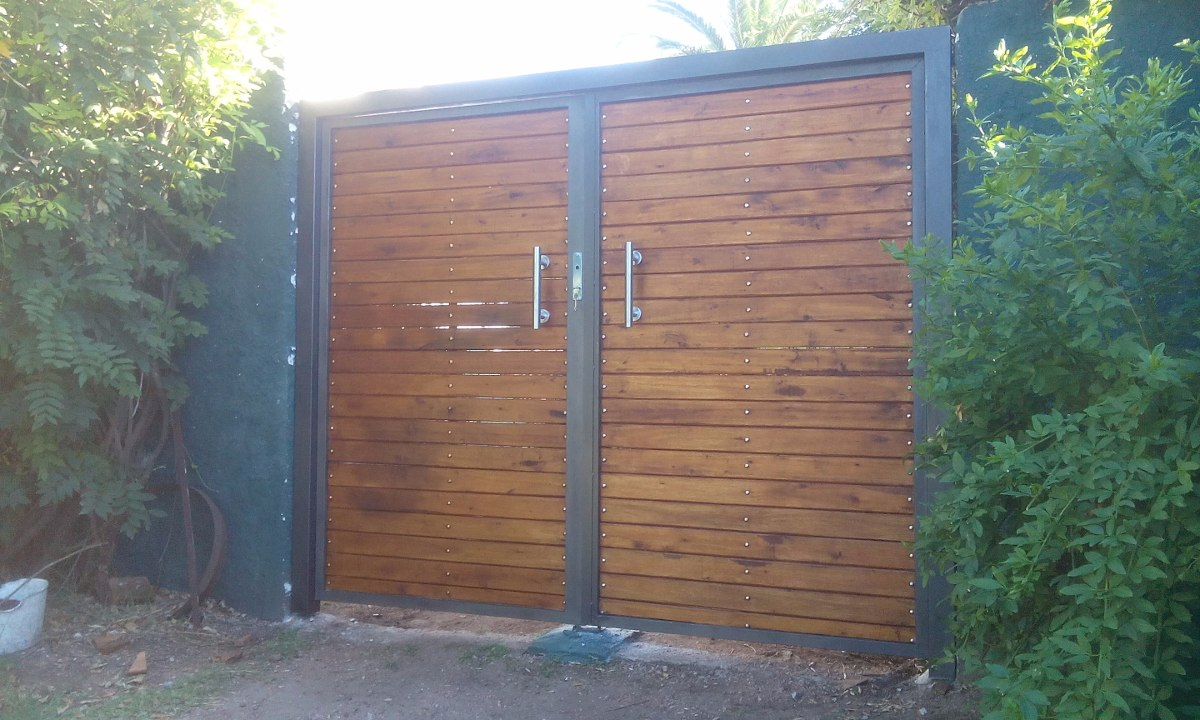Porton de garage en mercado libre for Cuanto sale una puerta