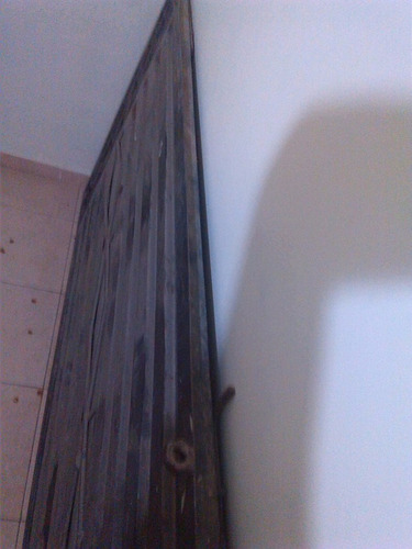 porton metalico del pesado