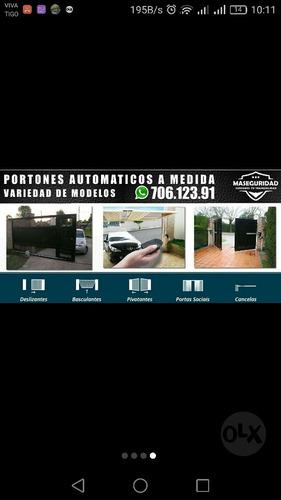 portones automaticos - electricos