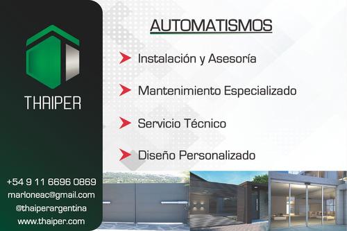portones automaticos puertas automáticas y automatizaciones