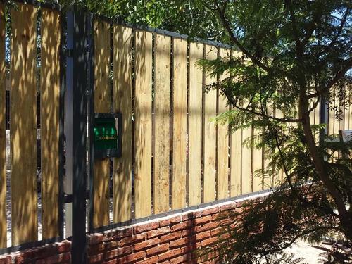 portones automatizados basculantes cerramiento albañileria