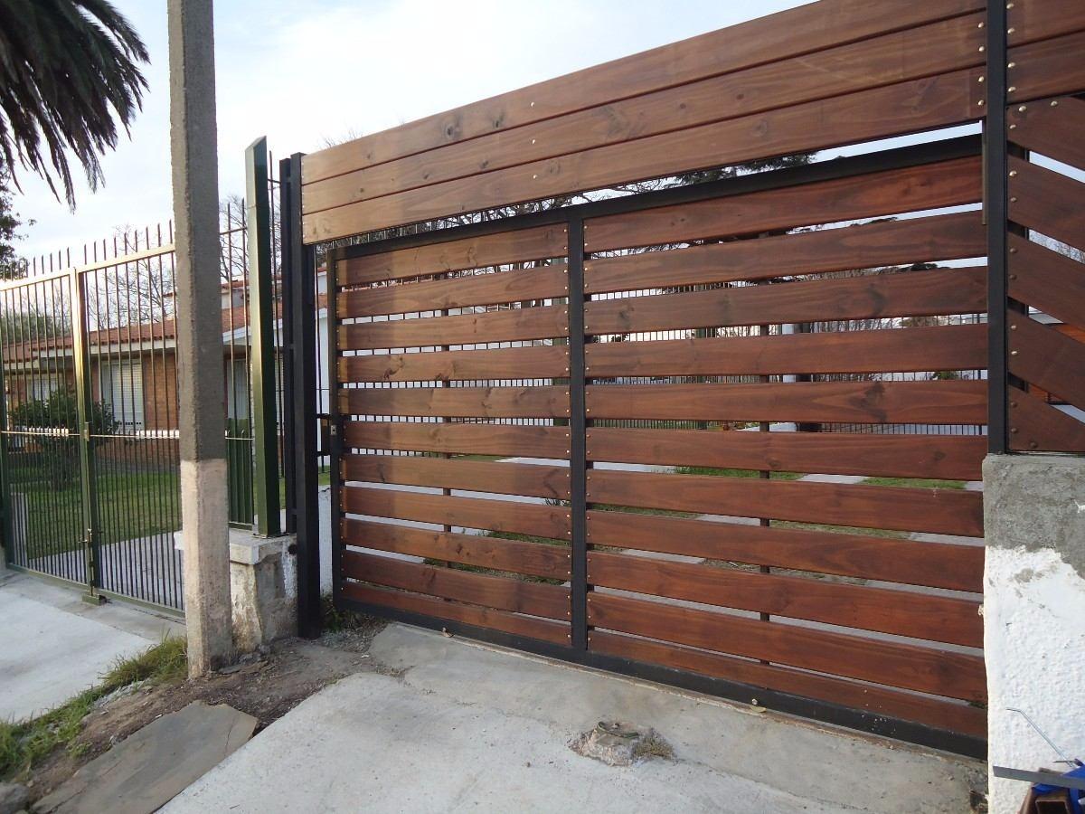 Portones corredizos completos listos para instalar 1 - Puertas para cerramientos ...