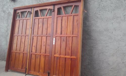 portones de garage en  eucalipto