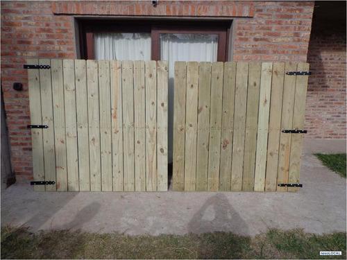 portones de madera a medida desde