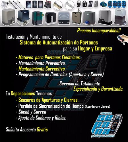 portones eléctricos mantenimiento, reparación y más