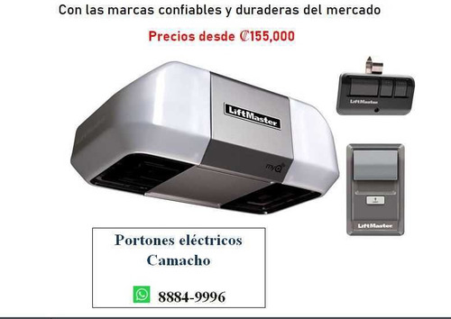portones eléctricos motores   heredia   8884 9996