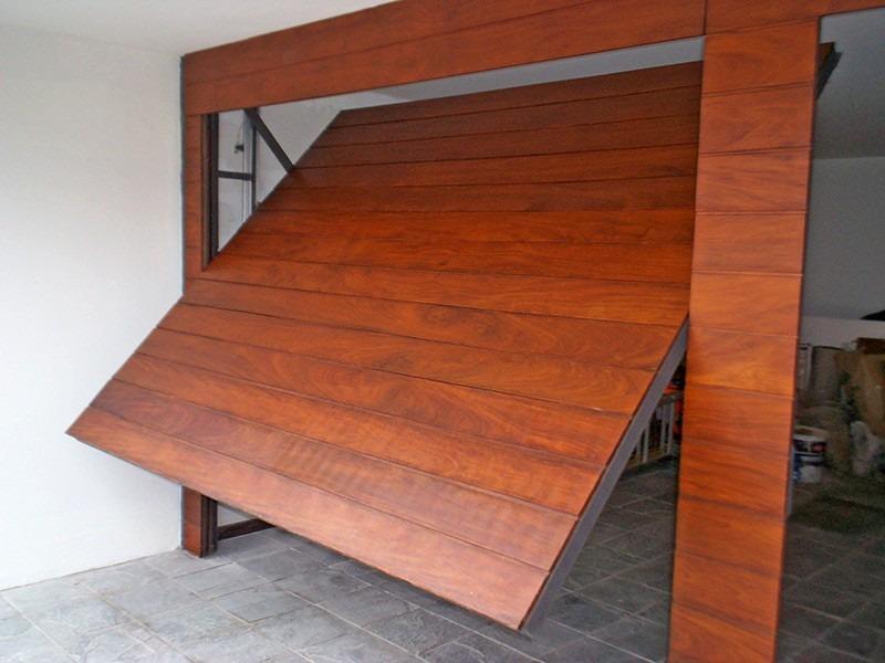 Portones electricos corredizo basculante todo 100 00 for Portones madera rusticos