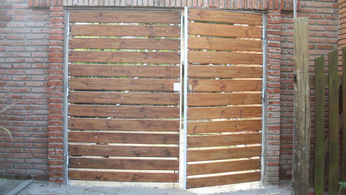 Diseo de portones de hierro perfect ampliar with diseo de for Modelos de portones de hierro y madera