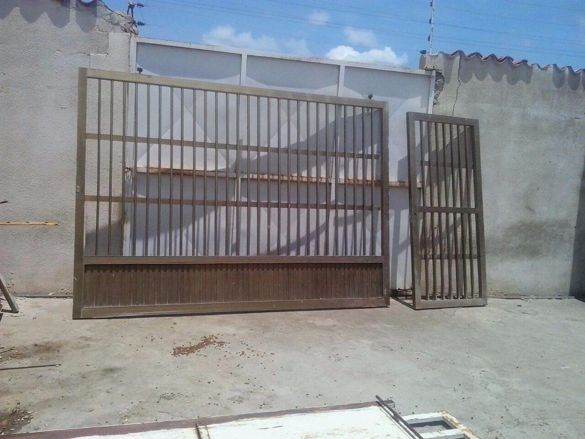 Portones puerta y rejas en aluminio color bronce x m2 bs en mercado libre - Rejas de aluminio ...