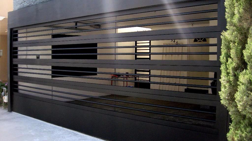 Portones puertas rejas protecciones en for Portones metalicos modernos