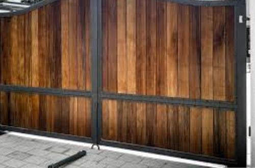 portones rejas madera metal