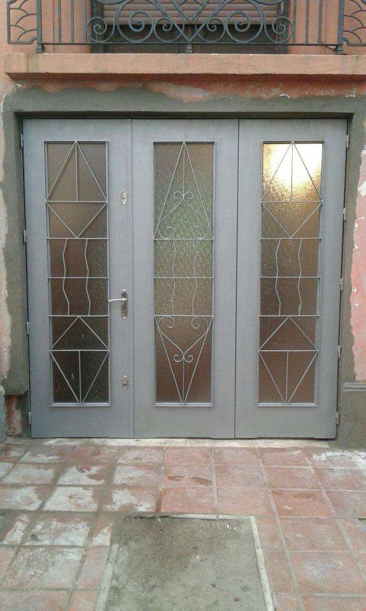 Portones rejas puertas herreria aluminio mamparas y for Rejas y portones