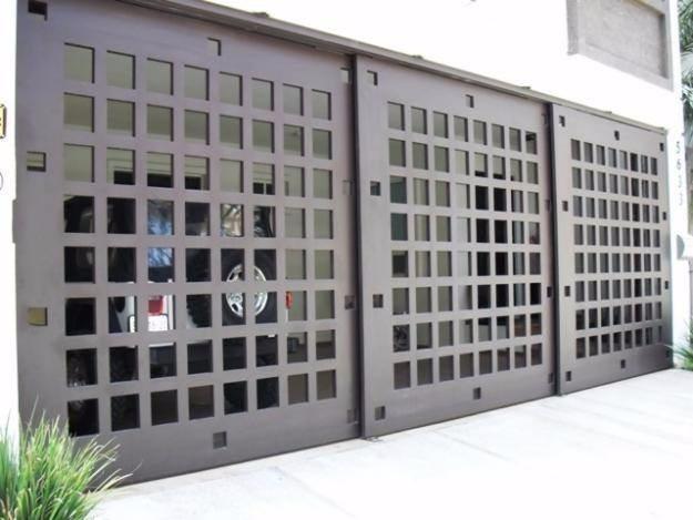 Portones rejas puertas ventanas herrer a presupuesto for Rejas y portones