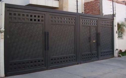 portones zaguanes puertas rejas herreria especializada