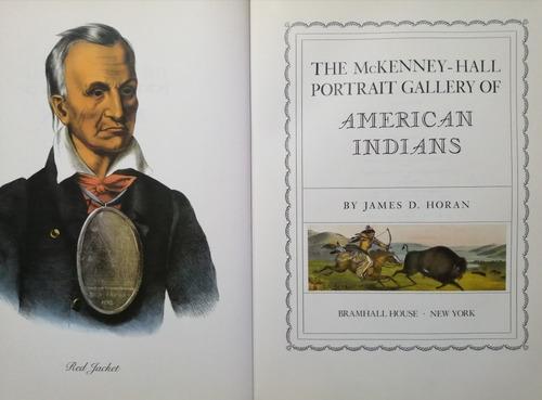 portraits american indians. libro de arte y antropología