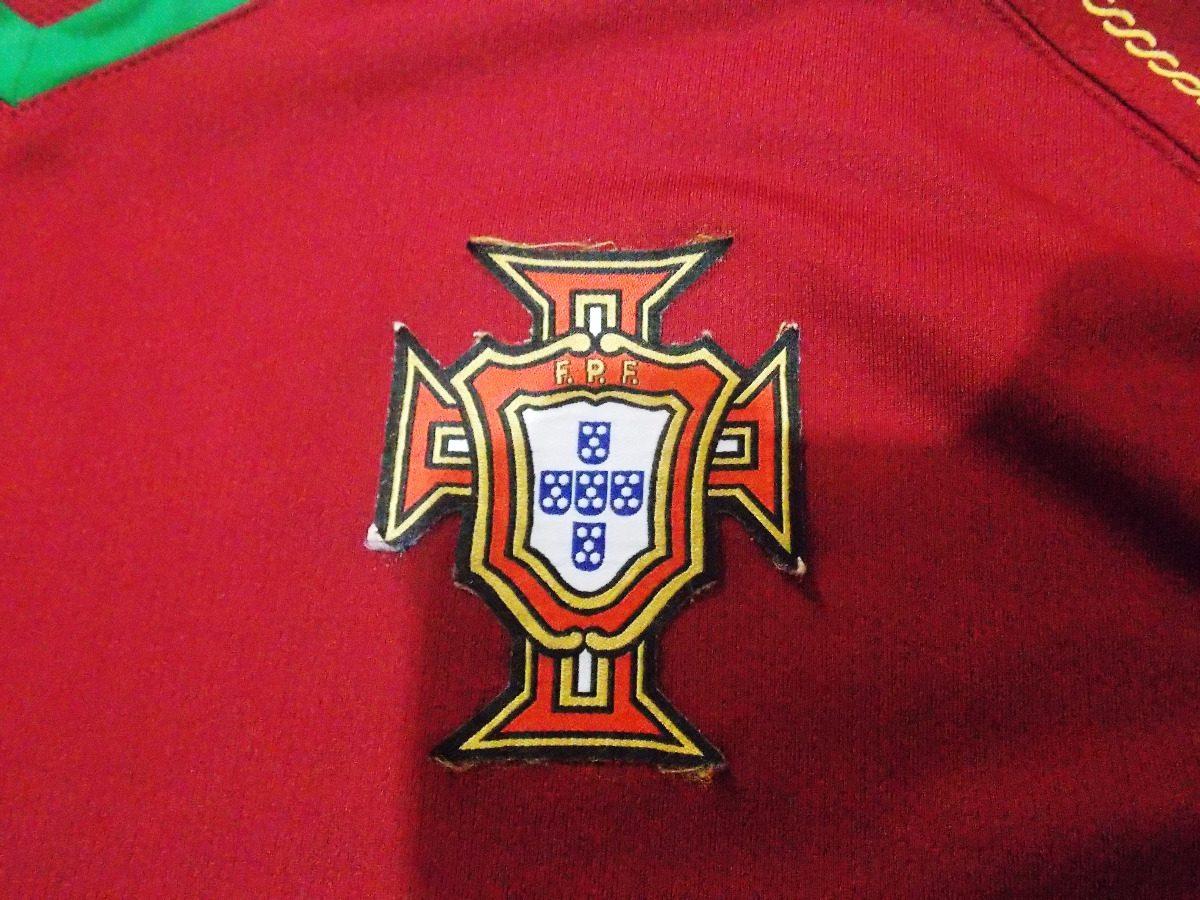 93c600f2c7 portugal 2006 2008 nike titular tamanho gg. Carregando zoom.