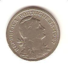 portugal - 50 centavos 1927 - nº 632 -  frete grátis