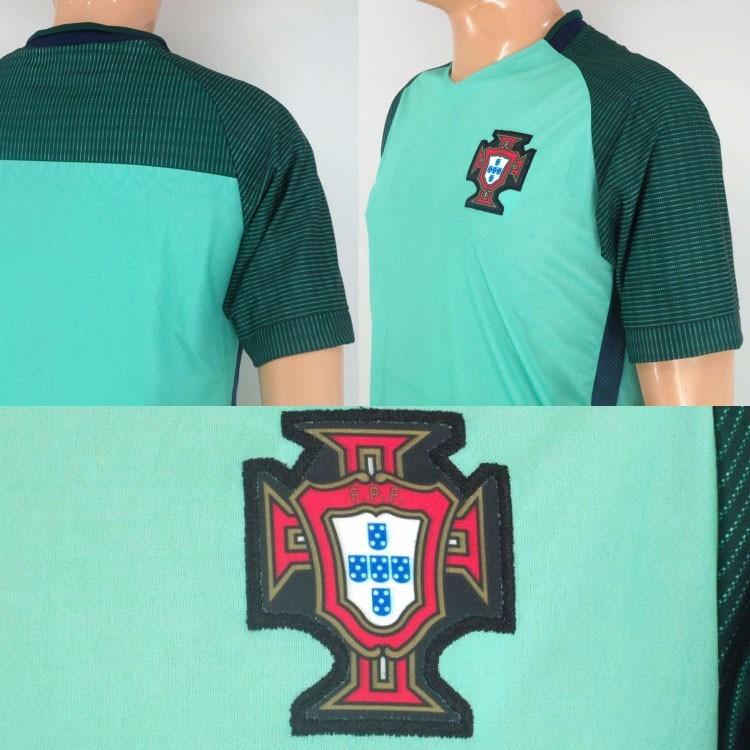Portugal Visita Uniforme Futbol Jersey Play Mundial. -   165.00 en ... e4e45894f7472