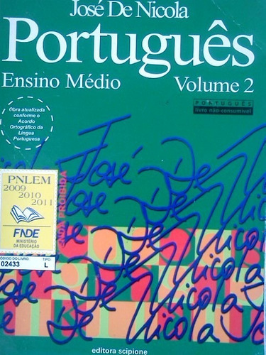 portugues ensino medio volume 2