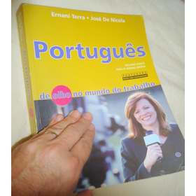 Português Volume Único  Ernani Terra  José De Nicola