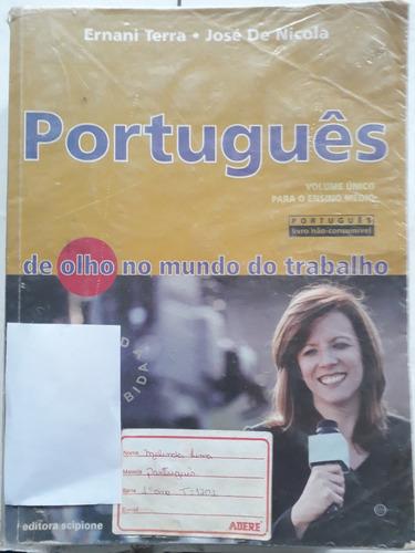 português de olho no mundo do trabalho volume único 2008