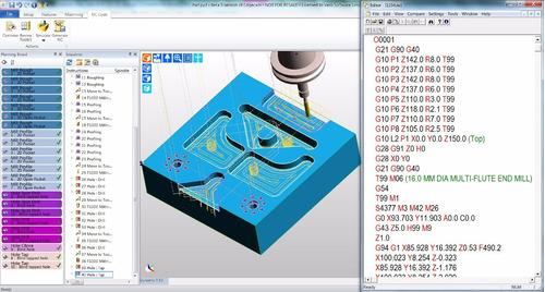 pós processador edgecam romi discovery 4022 mach9 3 eixos