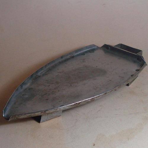 posa  plancha retro acero inox,buen estado colección y usar.
