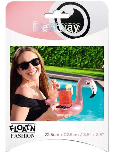 posa vaso inflable pileta bebida pavo real flamenco oferta!