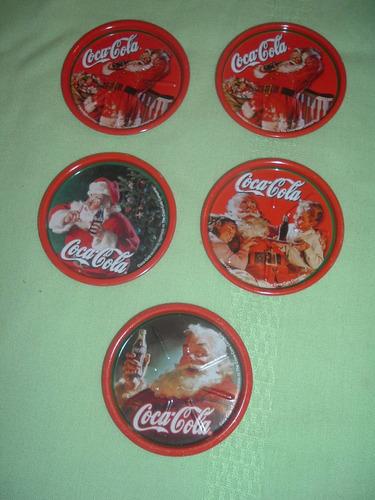 posa vasos de lata de colección cocacola