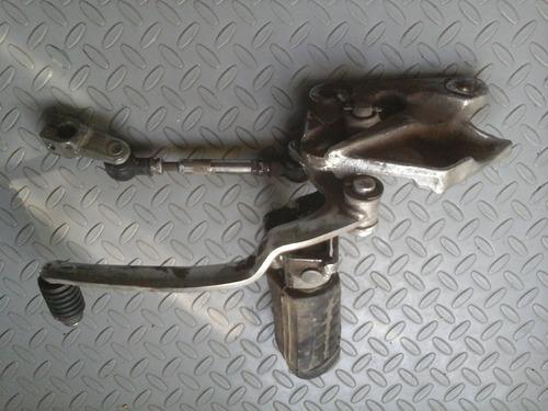 posapie izquierdo de cambios moto yamaha maxim xj 750 año 83