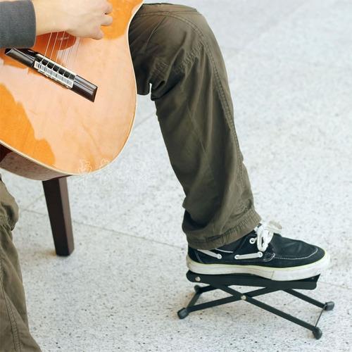 posapie pisapie banquito para pie tocar guitarra