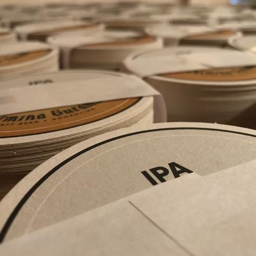 posavasos cerveza cervecería personalizados antares cervelar