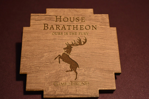 posavasos game of thrones realizados en madera