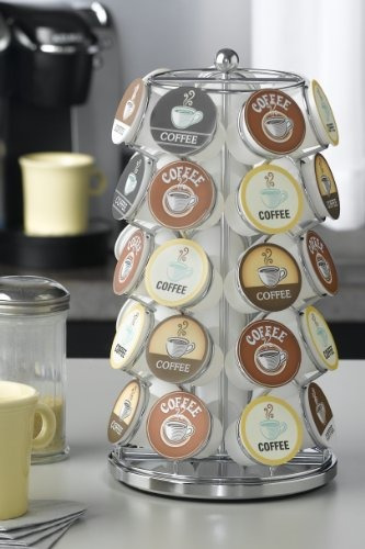 poseedores de vainas de café,nifty k-cup carousel en cro..