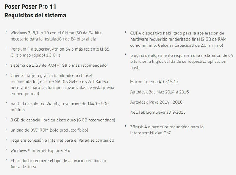 Poser Pro 11 + Contenido Adicional Para Windows Descarga