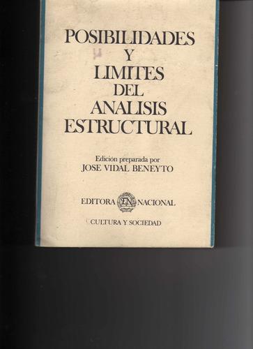 posibilidades y limites del analisis estructural