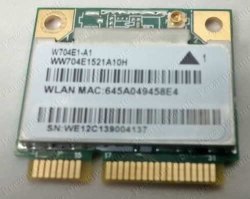 positivo premium sim + unique series placa wifi / w704e1-a1