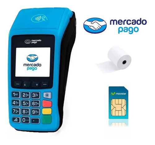 posnet mercado pago point plus con chip wifi inalambrico env