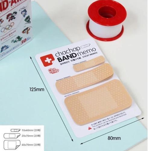 post it band-aid colorido bloco de notas 60 folhas