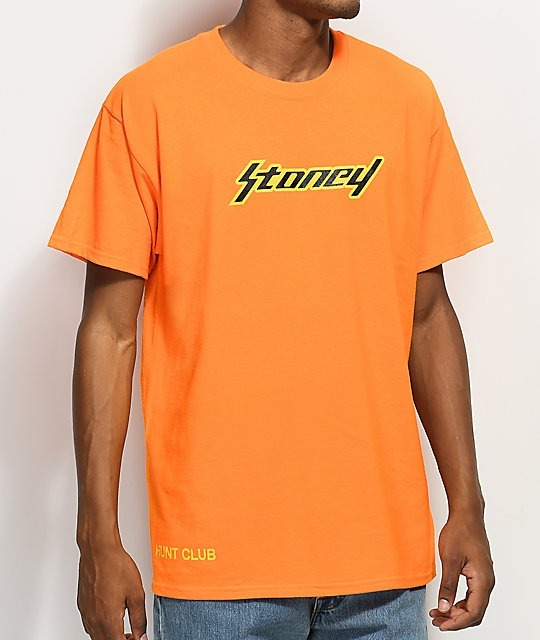 Post Malone X Official Merch - Camiseta Stoney Orange