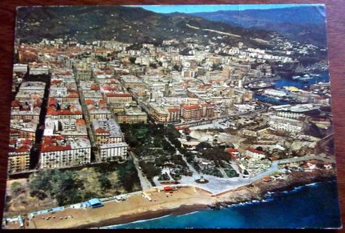 postal 1984 italia savona vista aerea en la plata fraganplat