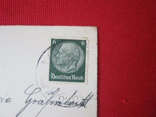 postal alemana deutscher reich